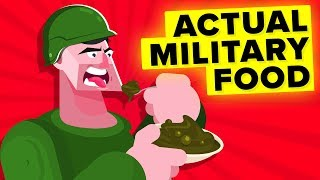 Can You Believe The Military Eats This Stuff (Military Food)