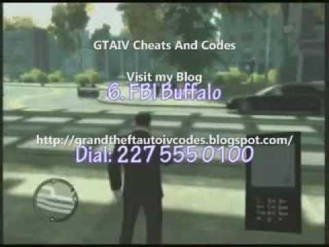Grand Theft Auto IV Cheating Codes 100% Working - YouTube