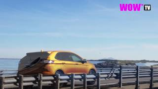 Ford Edge goes crazy in Norway