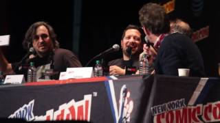 Impractical Jokers panel @ NYCC 2016 (Tom Kenny does new voices)