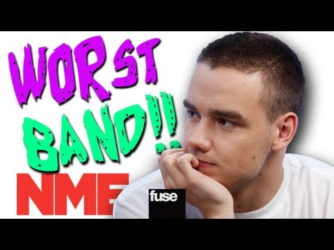 "One Direction Named ""Worst Band"" by NME"