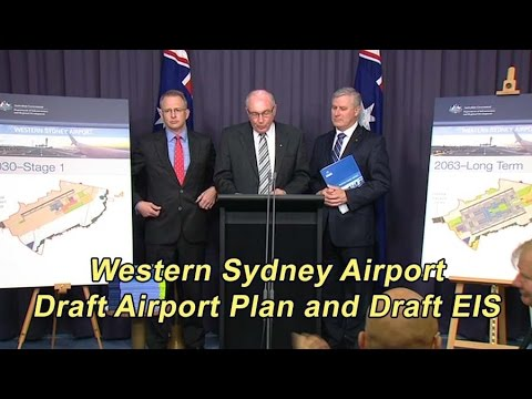 Inside Canberra - Press Conference Warren Truss - Western Sydney Airport h