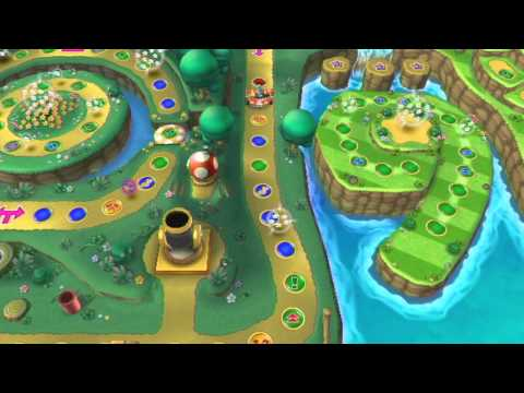 Mario Party 9 Story Mode Part 1 - Toad's Road