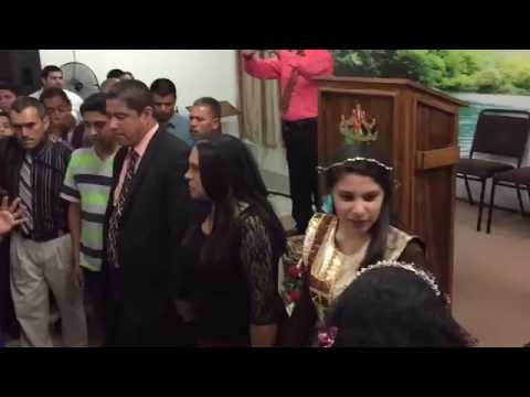 Ministracion a pastores Alejandro Sanchez & Monica Moreno y Familia