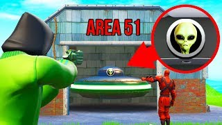 AREA 51 SNITCH Hide And Seek In FORTNITE!