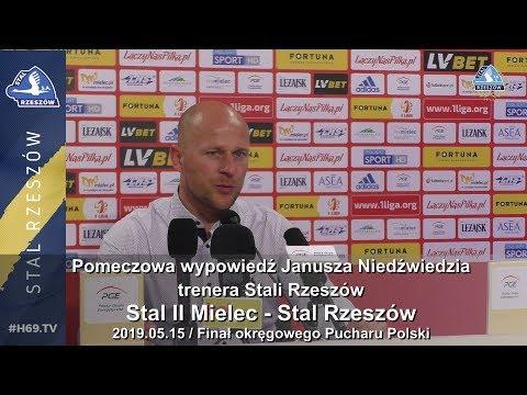 #H69.TV |KONFERENCJA| Stal II Mielec - Stal Rzeszów |2019.05.15|