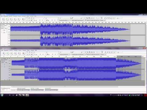 [Tutorial] Audacity Lieder schneiden und zusammenfügen