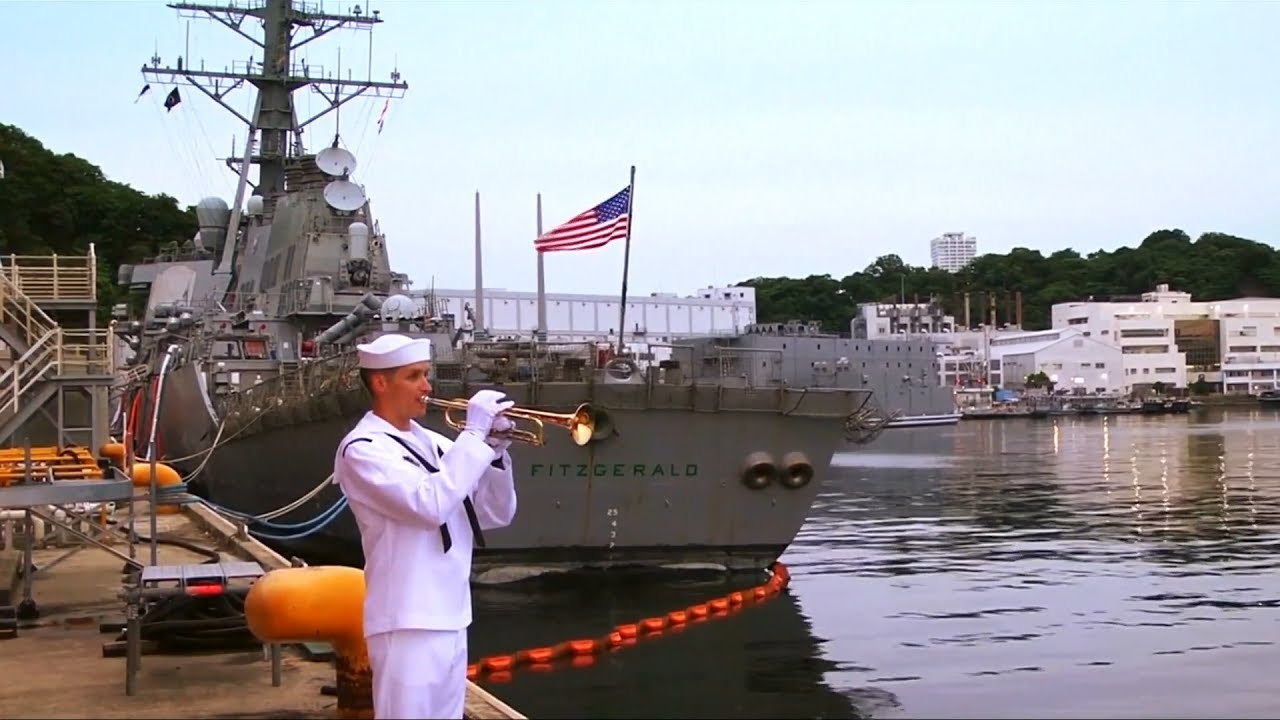 Thousands join memorial service for perished USS Fitzgerald sailors