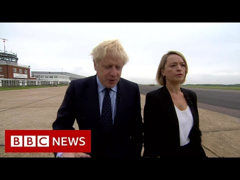 Brexit Boris Johnson pulls out of news conference - BBC News