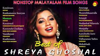 Best of Shreya Ghoshal | Nonstop Malayalam Film Songs