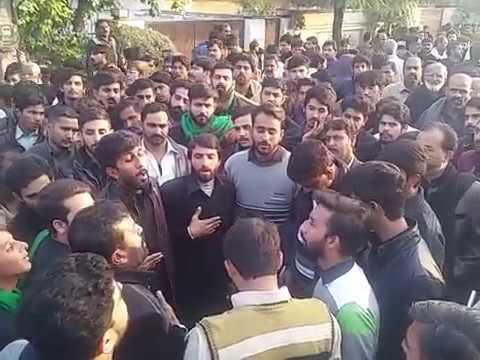 Sajjad dy kafan noha by qari party 28 saffar 2017 churr choke rawalpindi