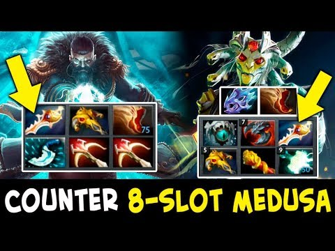 How to counter 8-slotted RAPIER Medusa — Attacker RAPIER Kunkka