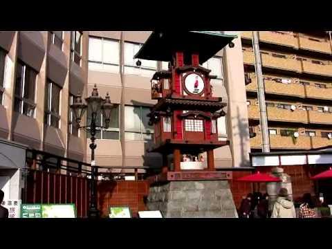 閑人の動画:073道後温泉坊ちゃんのカラクリ時計