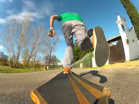 New gopro HD2 longboard test
