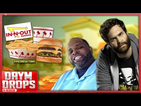 In N Out Burger Review Ft. Epic Meal Time