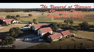 The Vineyard at Florence - 1 mile distance flight - Mavic Pro Drone
