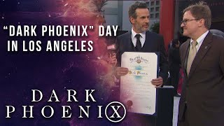 "Los Angeles declares ""Dark Phoenix Day"" LIVE from the Red Carpet"