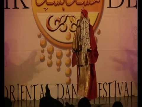 Selma (France/Tunisia) Tunisian Folk Dance- Mezoued/Fazzani at Heshk Beshk Festival