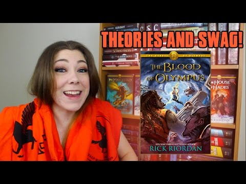 THE BLOOD OF OLYMPUS | THEORIES & SWAG!