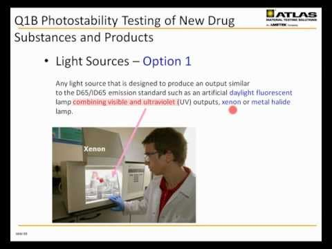Pharmaceutical Photostability Testing: Small and Large Molec
