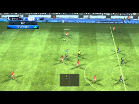 PES 2013 -  Barcelona Vs Benfica = Uefa Champions League