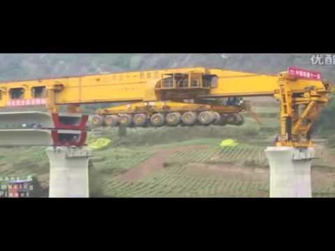Китай  Современные технологии  Вот так нужно строить мосты! Новости мира сегодня  Китай....