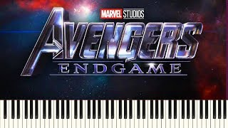 How To Play: Avengers - Endgame (Official Trailer 2 Music) | Piano Tutorial + Sheets