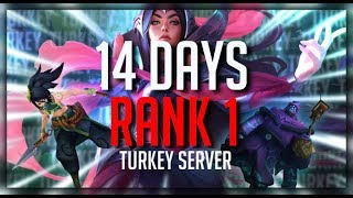 TF Blade | 14 Days to rank 1 (TR Region)