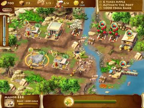 The Timebuilders: Pyramid Rising 2 - Bonus Level 4 (The Ruins of Hathor)