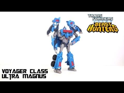 Video Review of the Transformers Prime: BEAST HUNTERS Ultra Magnus