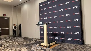 #UFCVancouver official weigh-ins (noon E.T.)