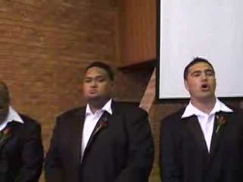 Tuitama Brothers Singing Samoan Ave Maria the Wedding Song.