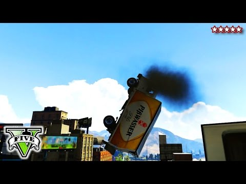 GTA 5 BMX Stunts & Custom Game | GTA V Launch Glitch Goofing Around | GTA Online