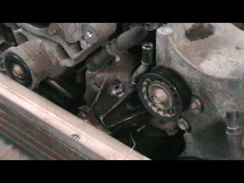 1999 Chevy S-10 4x4 4.3L Water Pump Change