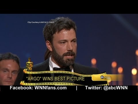 Ben Affleck Oscars Speech: 'You Gotta Get Up'