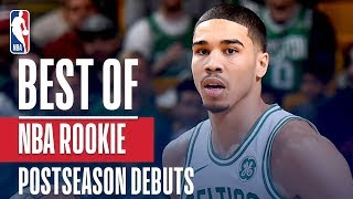 Best of NBA Rookie Postseason Debuts | Donovan Mitchell, Ben Simmons, Jayson Tatum, and More!
