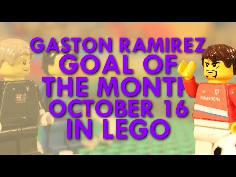 Gastón Ramírez - Goal of the Month in Lego - October 16