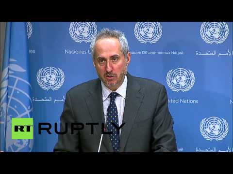 USA: Ban Ki-moon welcomes Ukraine ceasefire - spokesperson