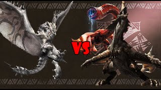 Silver Rathalos vs Monoblos & Red Khezu (1/2)