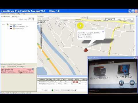 Satelitsko praćenje vozila sa Garmin navigacijskim uređajem kao terminalom u vozilu