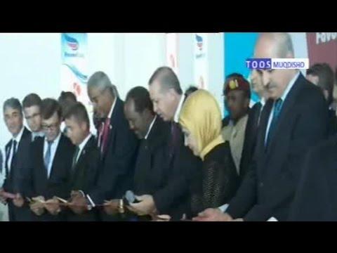 DAAWO- Madaxweyne Erdoğan & Madaxweyne Xassan 00 Xarigga Kajaraya Terminalka Cusub 'Xamar' بسم اللہ
