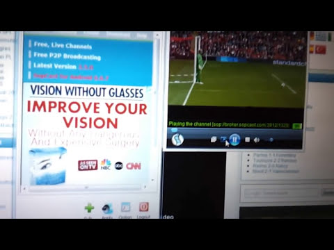 Streaming Live Sports Using Sopcast - A Quick Tutorial (Windows Computers)