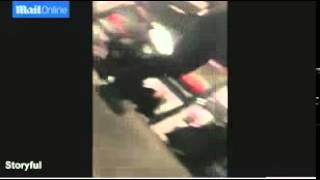 Ismaaiyl Brinsley On Subway Floor-African Ancient Warrior DNA Overwhelmed Superior Org Techniques