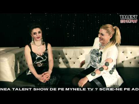 INTERVIU LA TALENT SHOW (MYNELE TV)