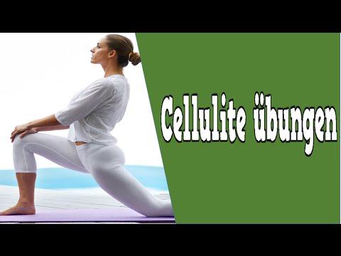 übungen bei cellulite