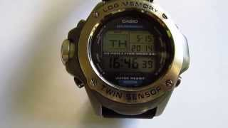 Casio Sea Pathfinder Divers 200 M Spf 100S wristwatch