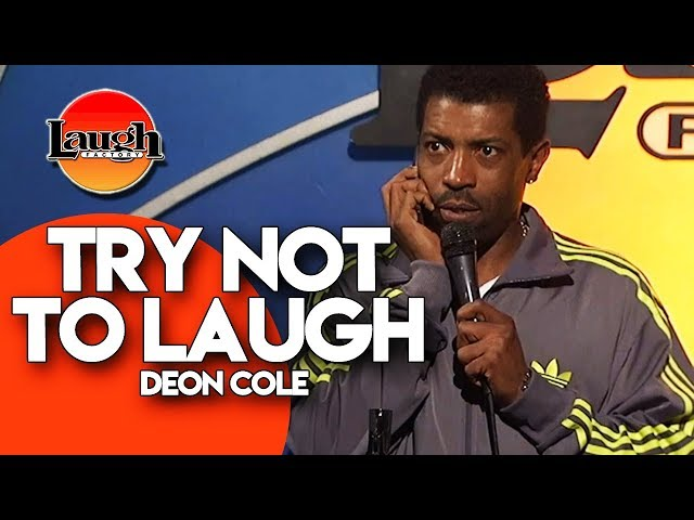 TRY NOT TO LAUGH  Deon Cole  Stand-Up Comedy