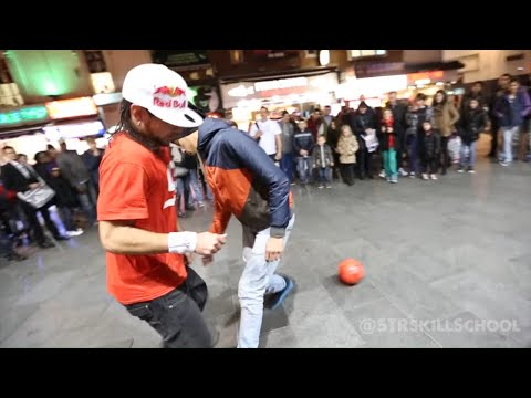 Insane Street Football Skills - Panna London Pt2 Séan Garnier video