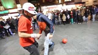 Amazing street football skills