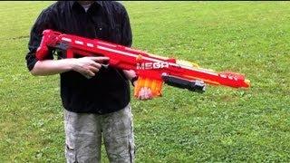 Nerf N-Strike Elite MEGA Centurion - Range Test (Stock)